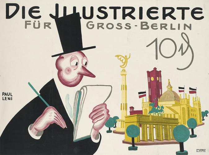 Gross Berlin die illustrierte für gross berlin 10 pfg aktuelle